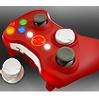 XBox 360 Wireless Shell NEW D-PAD Red