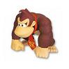 Display Donkey Kong Character