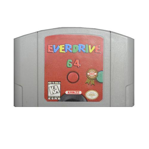 N64 Cart (Everdrive v2.5) with Shell