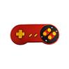 SNES Red Control Pad (SFC)